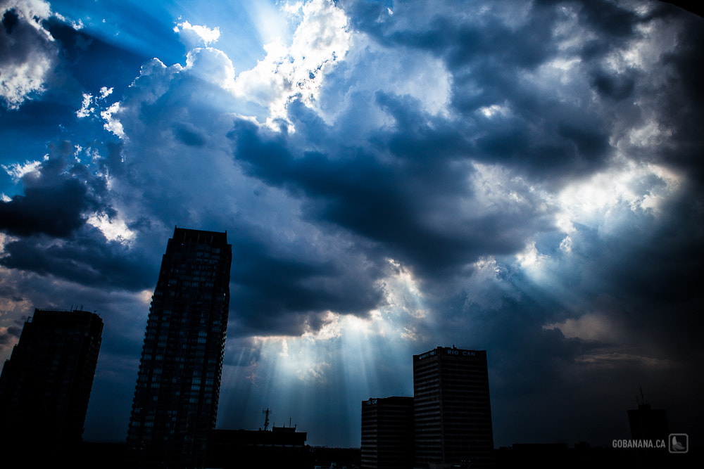Photograph Storm passing over Toronto by Anna K on 500px