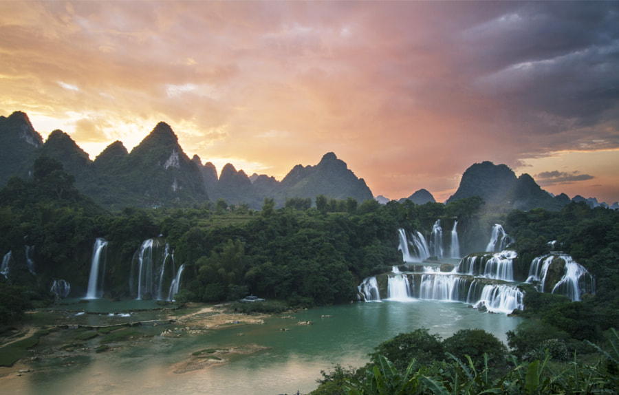 Photograph Detian Waterfalls by Louise Coghill on 500px