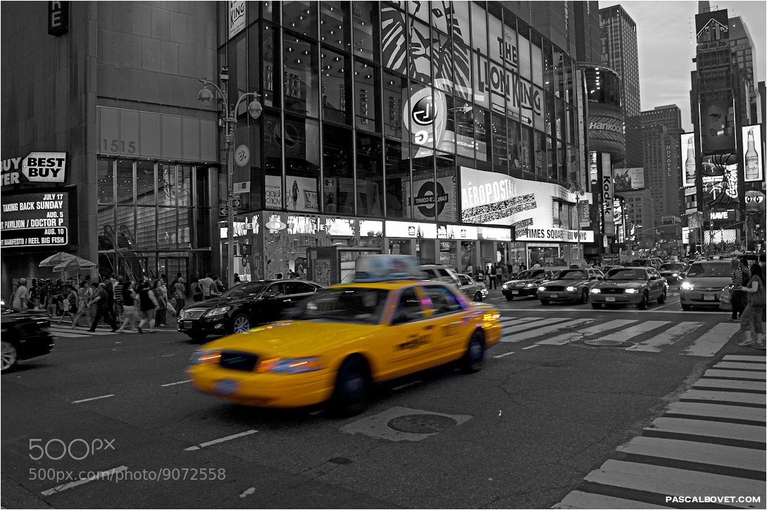 Photograph NYC - Times square II  by Pascal Bovet on 500px