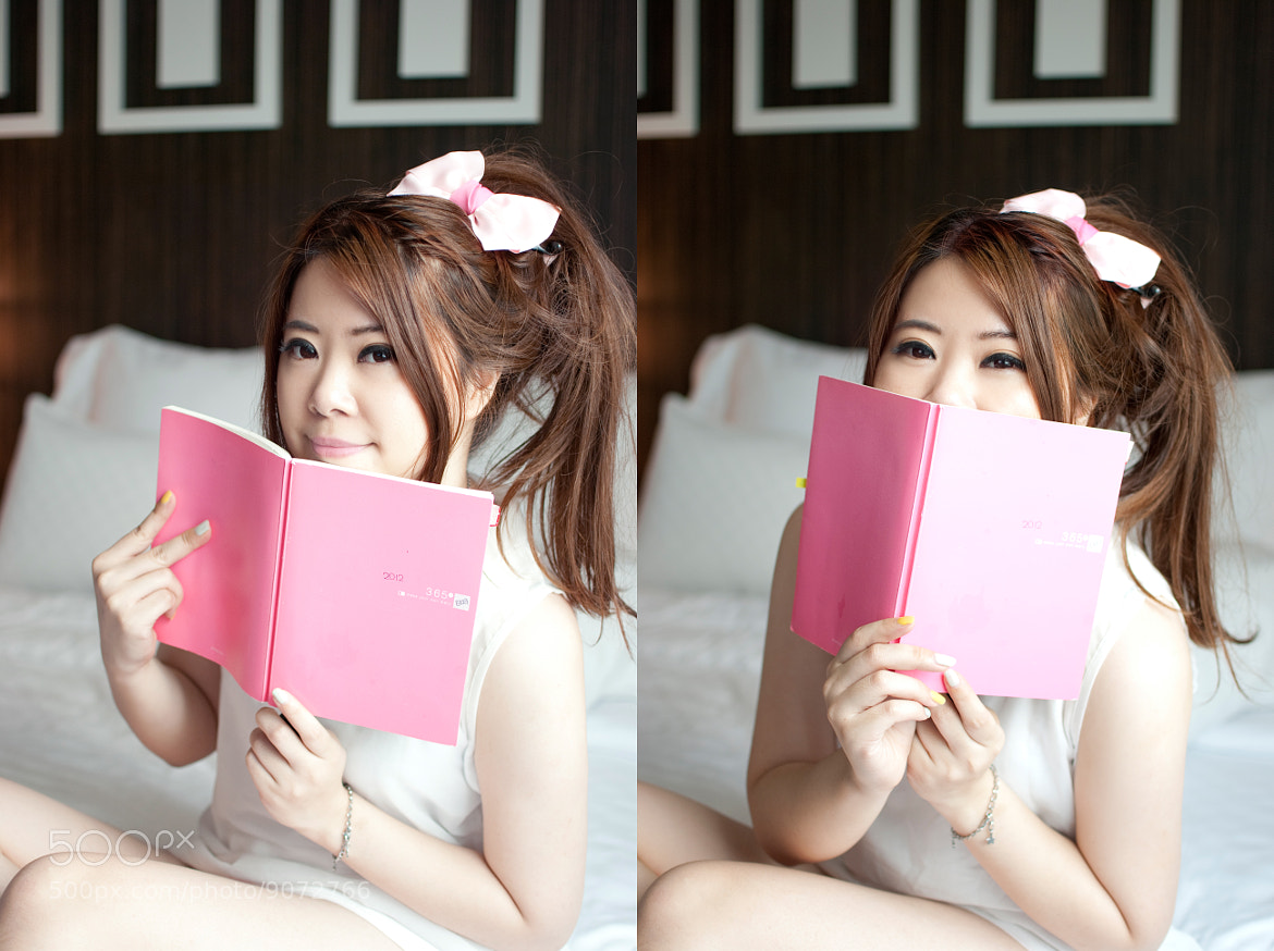 Photograph Self shot :My pink diary by 蔻可 吳 on 500px