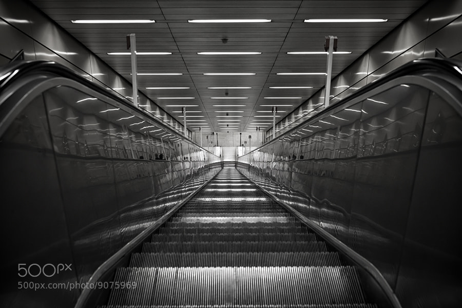 Photograph U Bahn by Malte Kuchta on 500px
