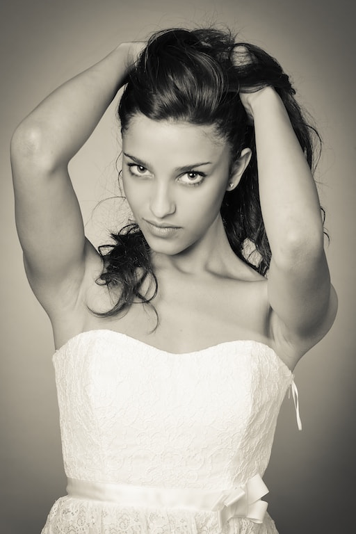 Photograph Portrait in black and white by Andrea Rapisarda on 500px