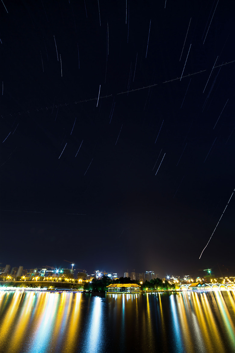 Photograph startrails in Xi'an by yi quan on 500px