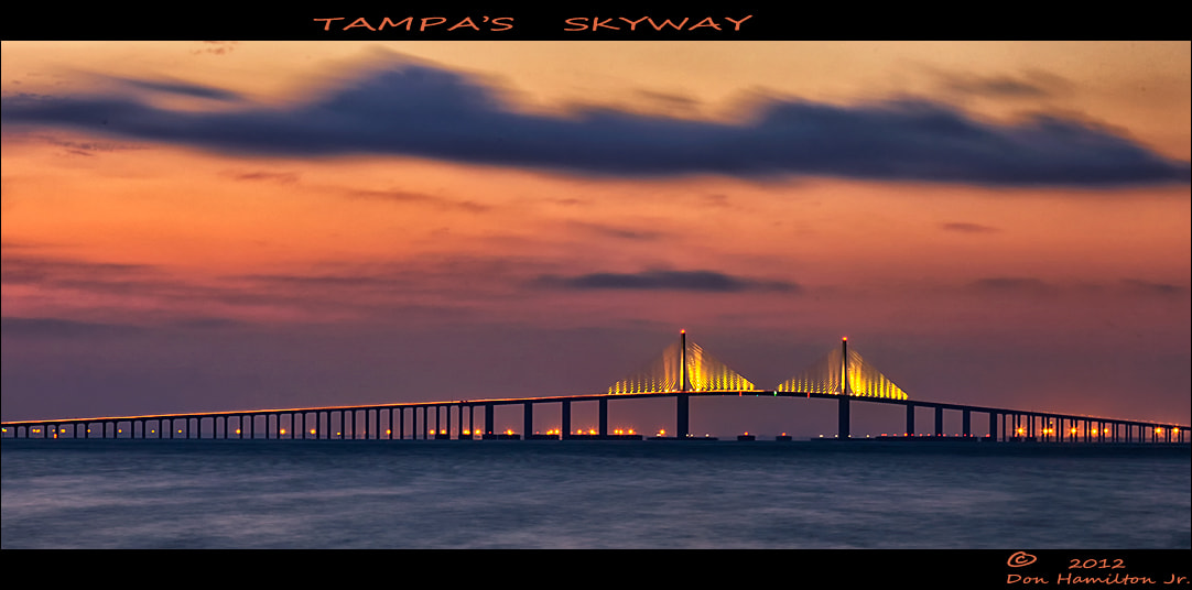 Photograph Tampa's SkyWay by Don  Hamilton Jr. on 500px