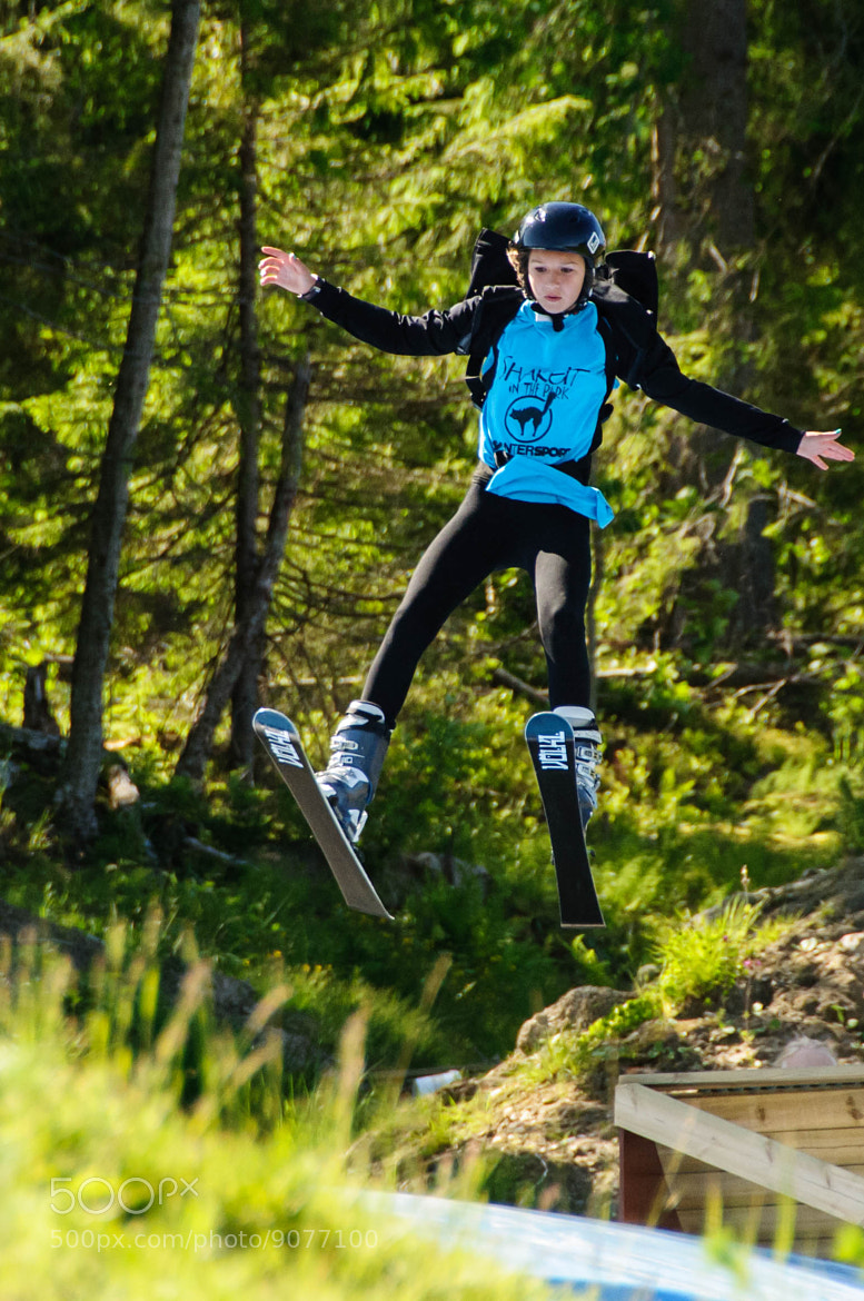 Photograph Ski Jumping Training in the summer by Ralf Wiechers on 500px