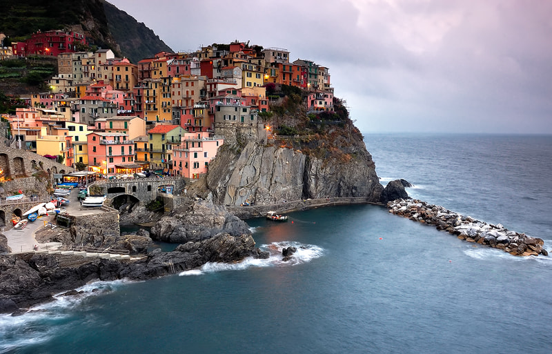 Photograph Manarola by Nuno Dias on 500px