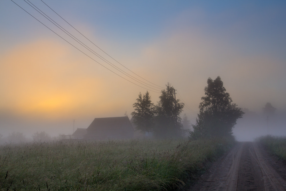 Photograph House in the Mist by Mindaugas Macaitis on 500px
