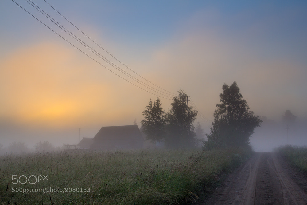 Photograph House in the Mist by Mindaugas Ma on 500px