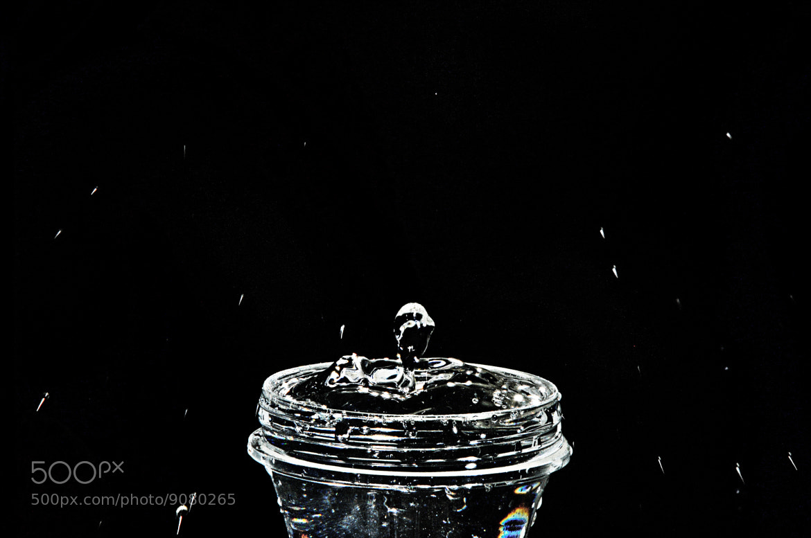 Photograph Water droplets by Hazman Fikri Photography  on 500px