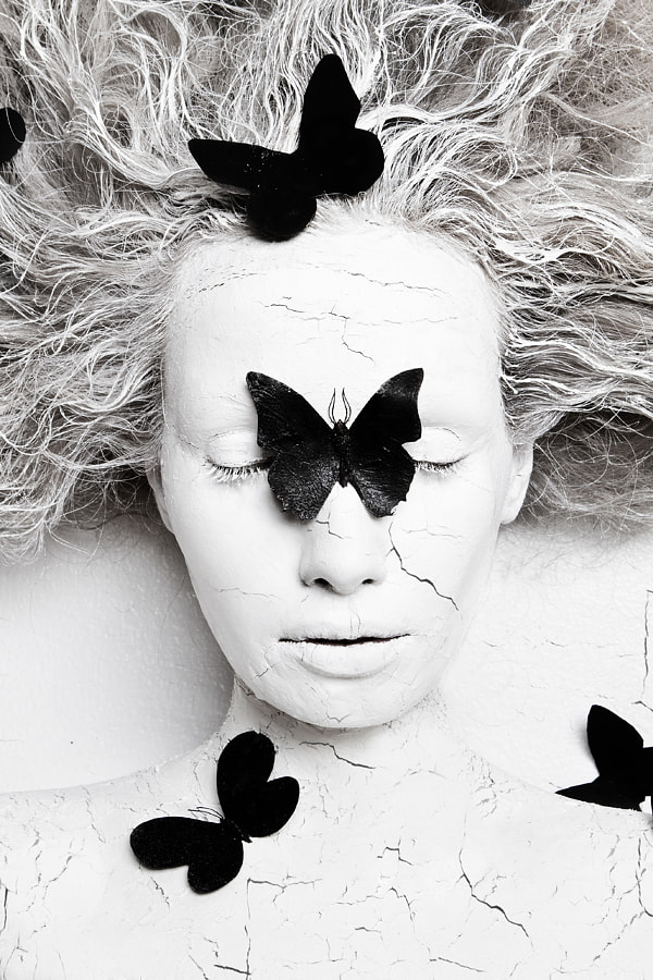 metamorphosis. black butterfly by Olga Volodina on 500px.com