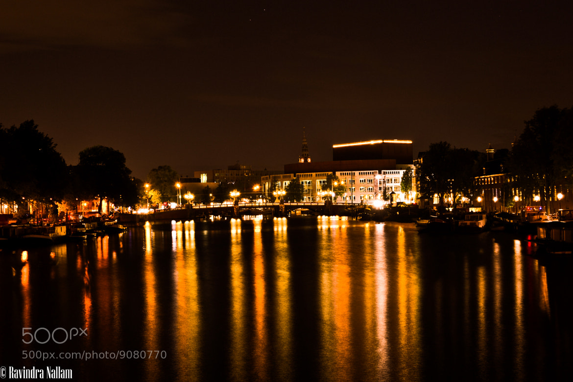 Photograph Amsterdam - The Jewel of night by Ravindra Babu on 500px