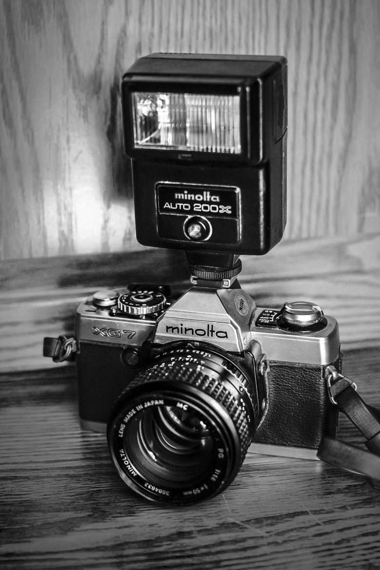 Photograph Minolta  by Mark Williams on 500px