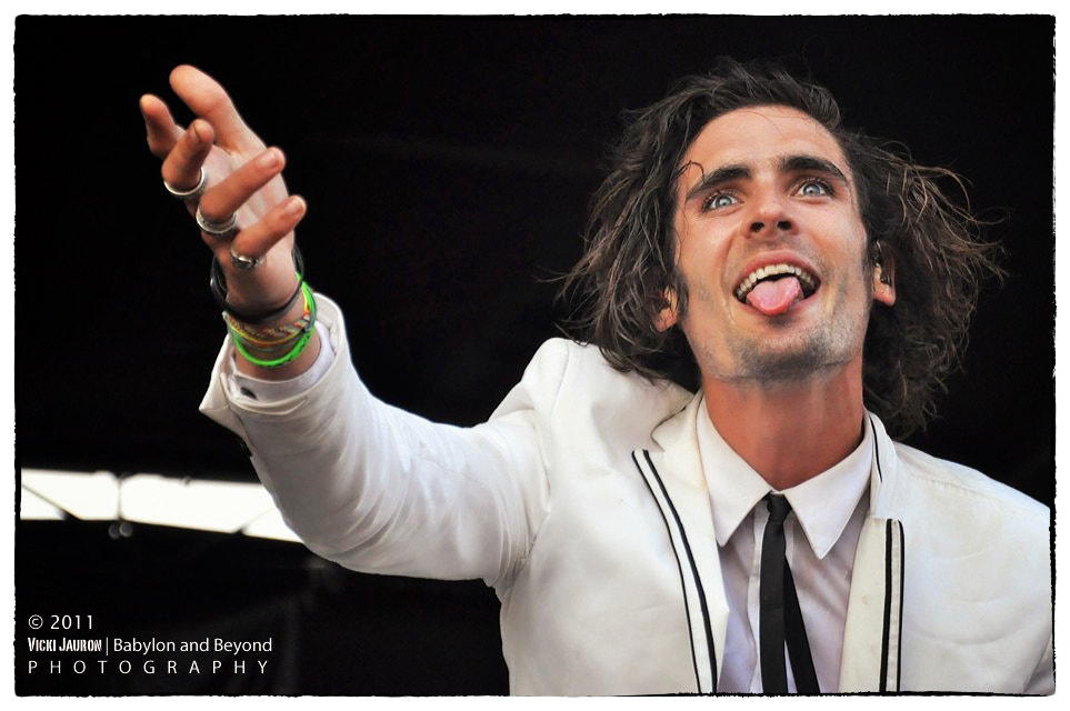 Photograph Tyson Ritter of the All American Rejects by Vicki Jauron on 500px