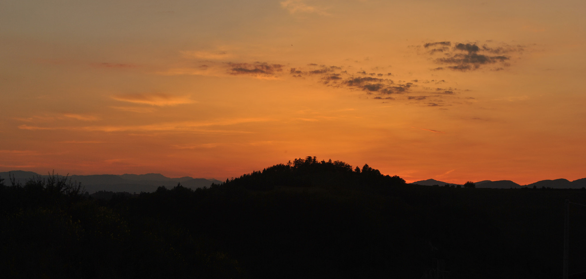 Photograph Sunset of MUGELLO by Andrea Ricci on 500px