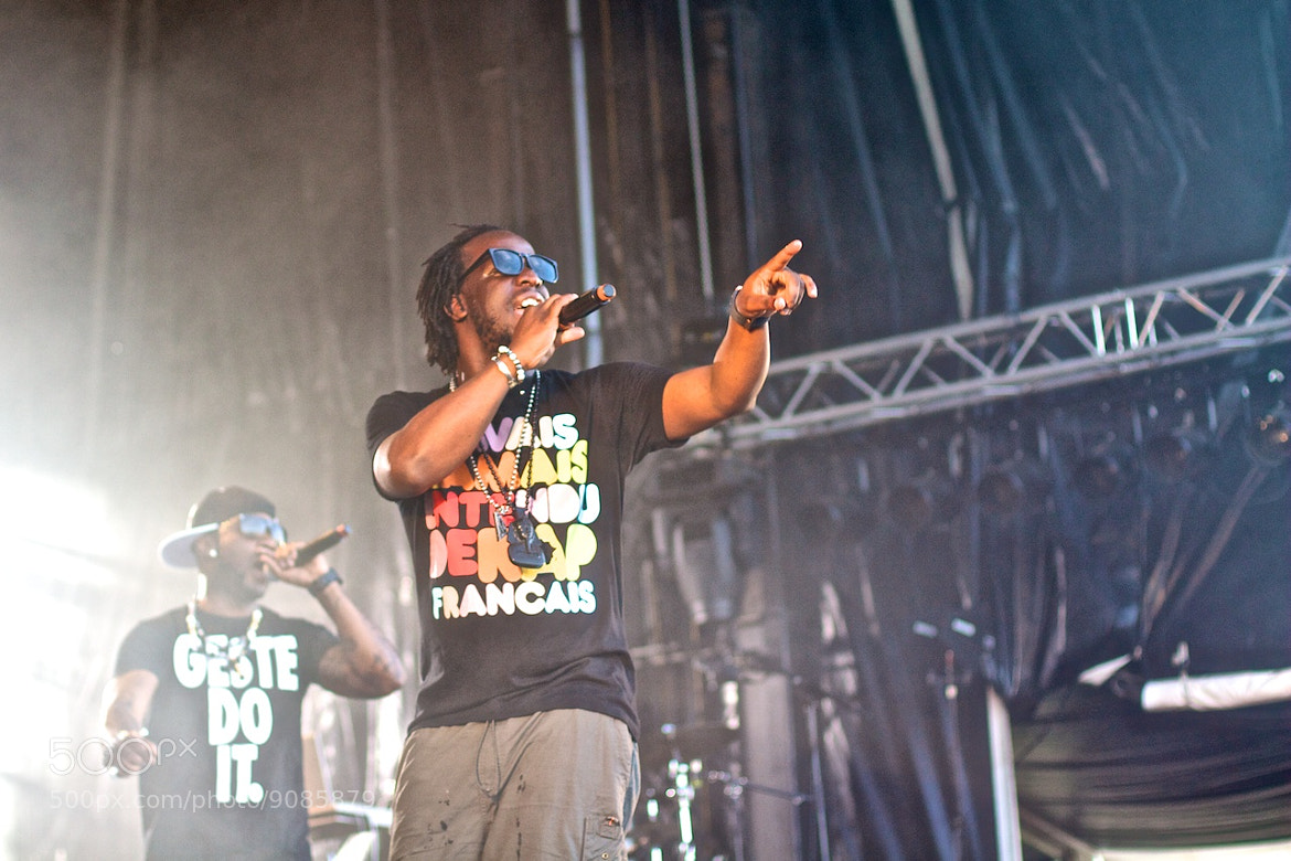 Photograph Youssoupha @ Urbano Festival 2012 by Guillaume Boivin on 500px