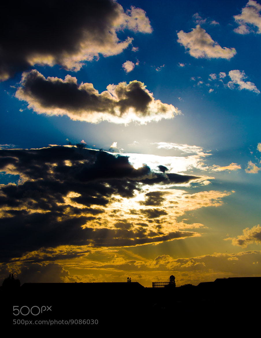 Photograph Berlin sky by Martin L. on 500px