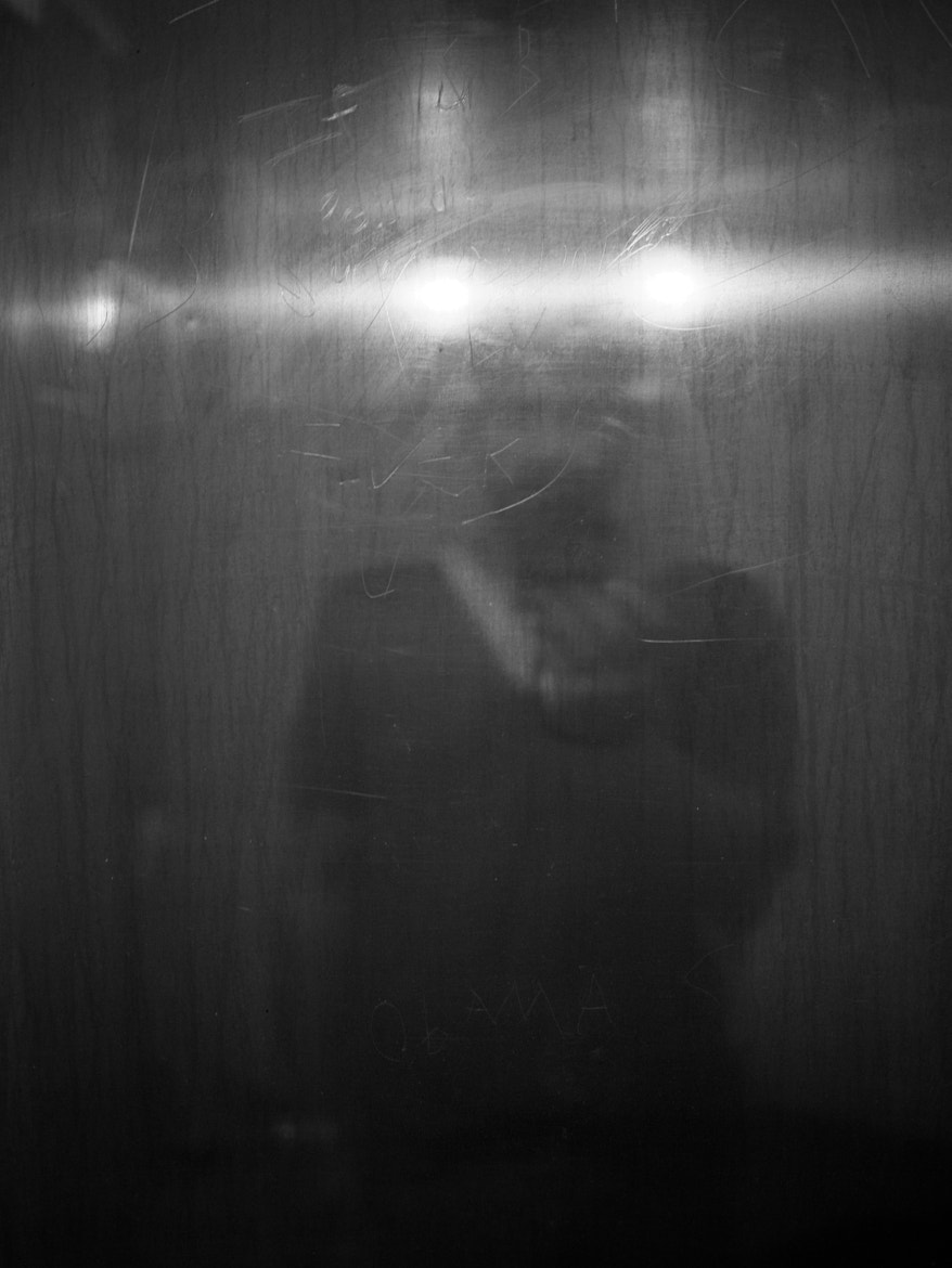 Photograph self portrait in a bathroom mirror by shaan ware on 500px