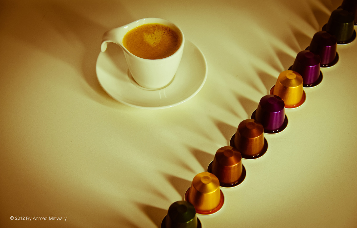 Photograph Nespresso Coffee by Ahmed Metwally on 500px