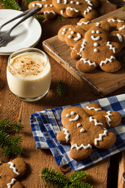 Photograph Homemade Decorated Gingerbread Men Cookies by Brent Hofacker on 500px
