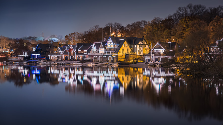 Boathouse Row by Eduard Moldoveanu on 500px.com