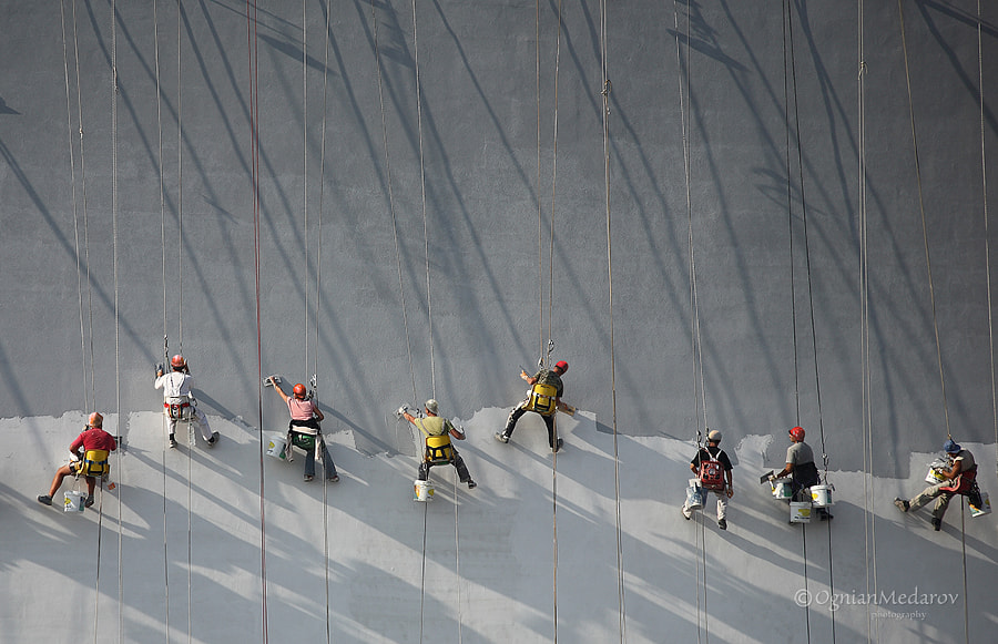 Photograph Construction Workers by Ognian Medarov on 500px