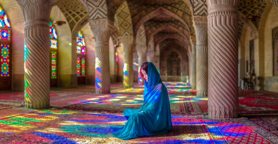 Photograph In Dream of Colors - Mosque of Colors by Ramin Rahmani Nejad on 500px