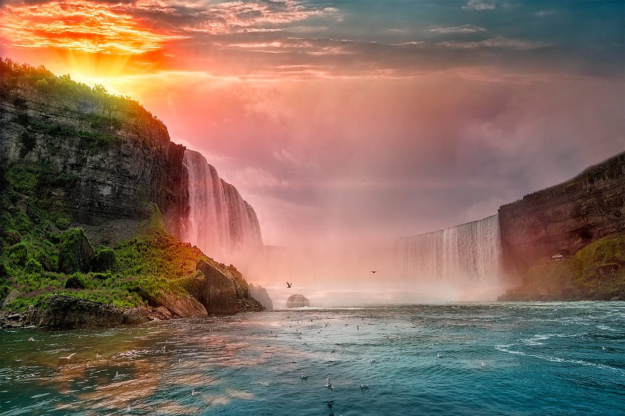 Photograph Niagara Falls by Matteo Pecchioli on 500px