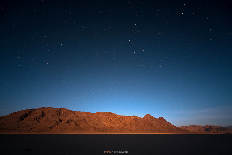 Photograph starry night at death valley. by Nan Zhong on 500px