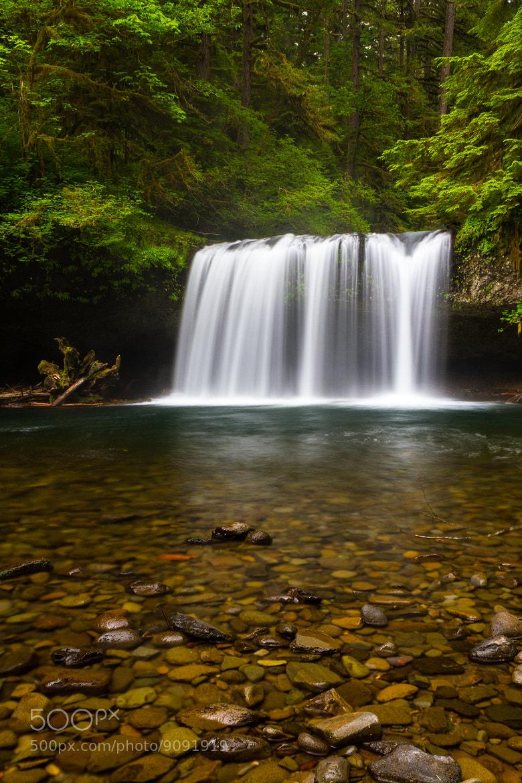 Photograph Upper Butte Creek Falls by Jordan Hackworth on 500px