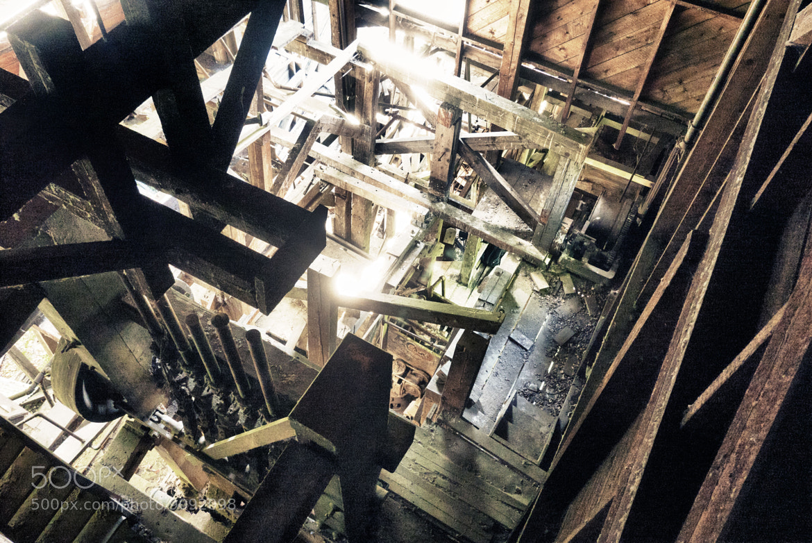 Photograph Stamp Mill from Catwalk by Phil Ackley on 500px