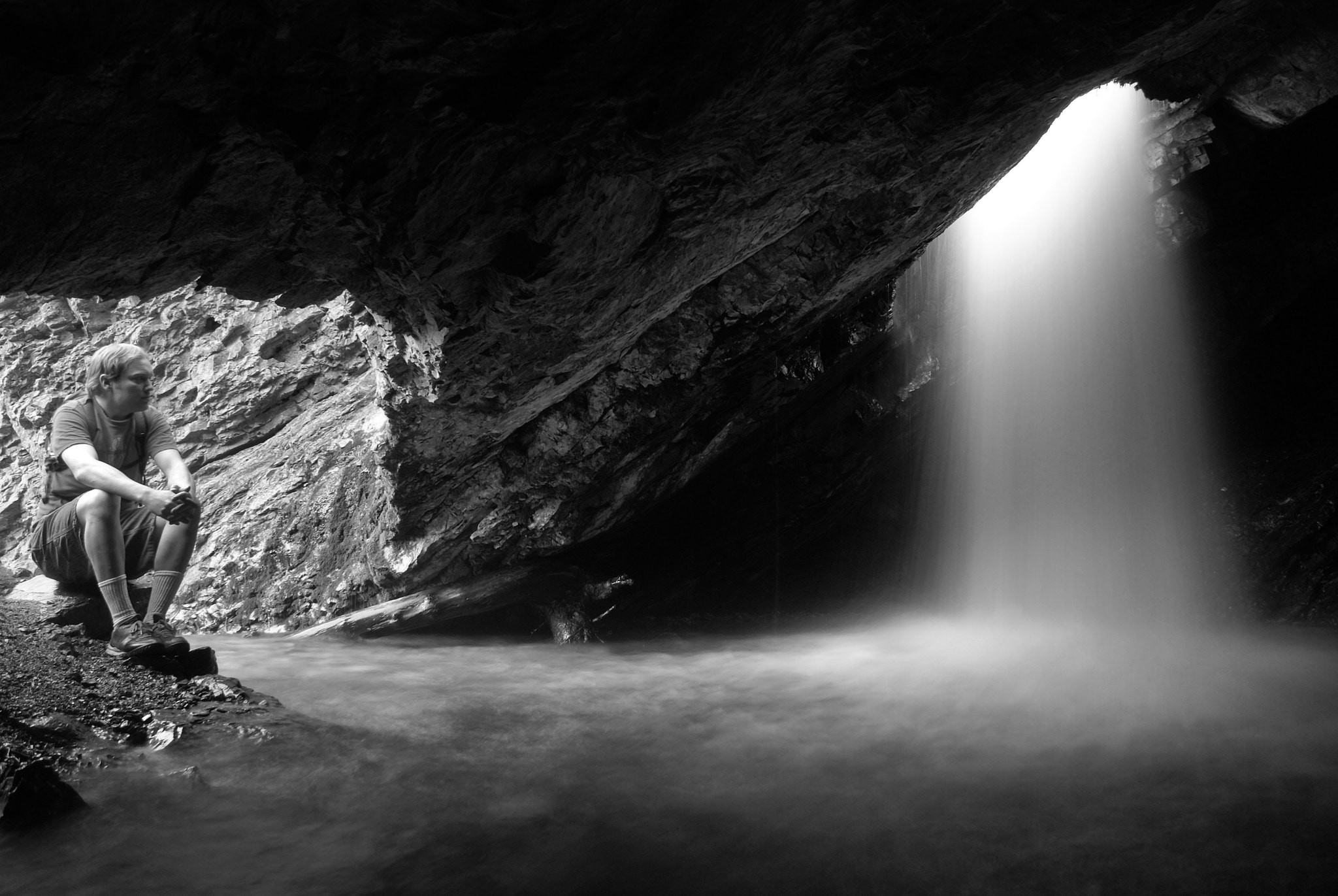 Photograph Donut Falls by Christian Madsen on 500px