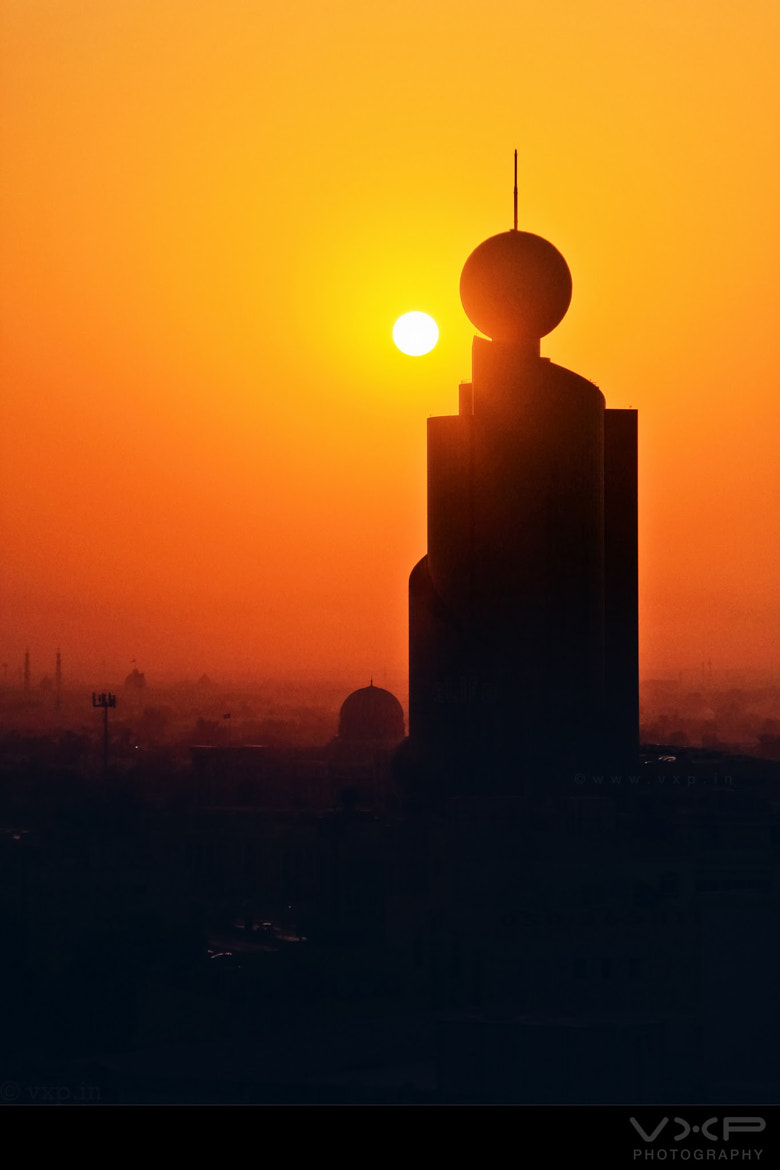 Photograph Dawn in Sharjah by Vimal Xavier on 500px