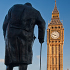 Постер, плакат: Winston Spencer Churchill