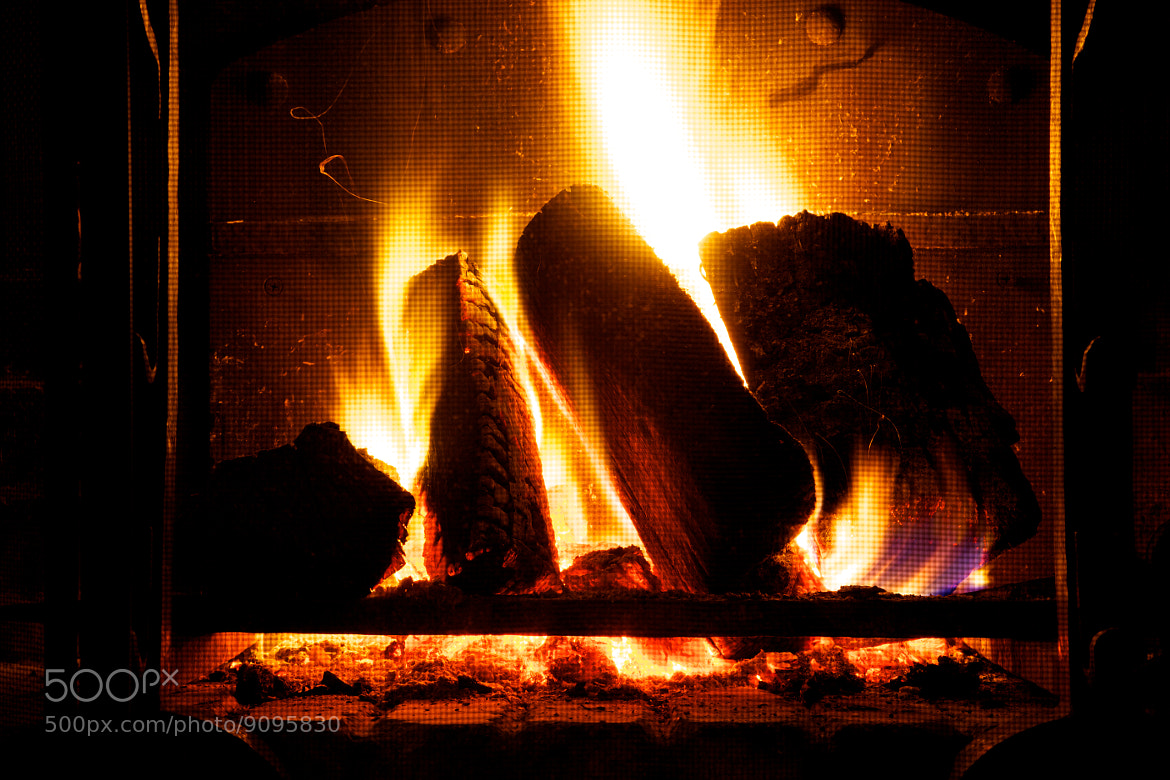 Photograph beautiful chimney fire by Matthieu Lucas on 500px