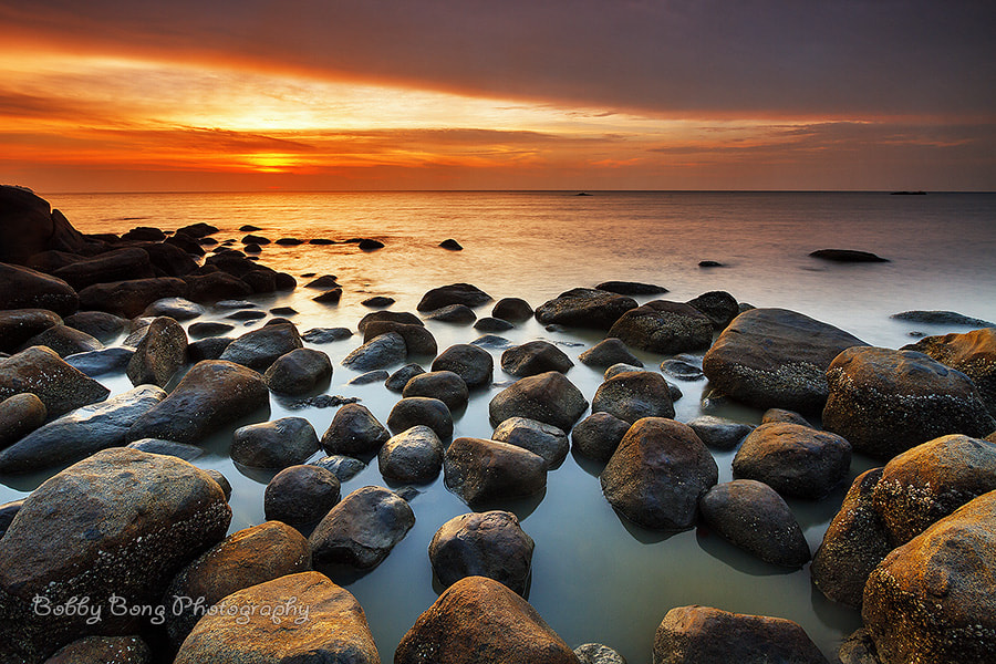 Photograph Scattered Rocks by Bobby Bong on 500px