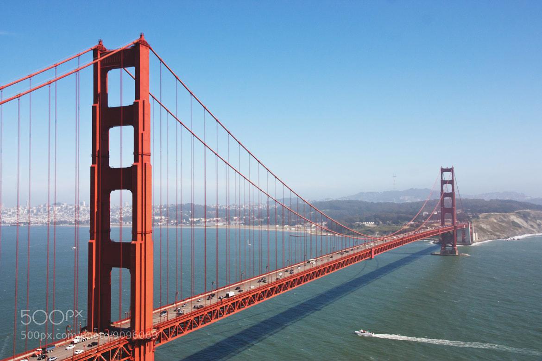 Photograph Golden gate bridge by Teuni Stevense on 500px