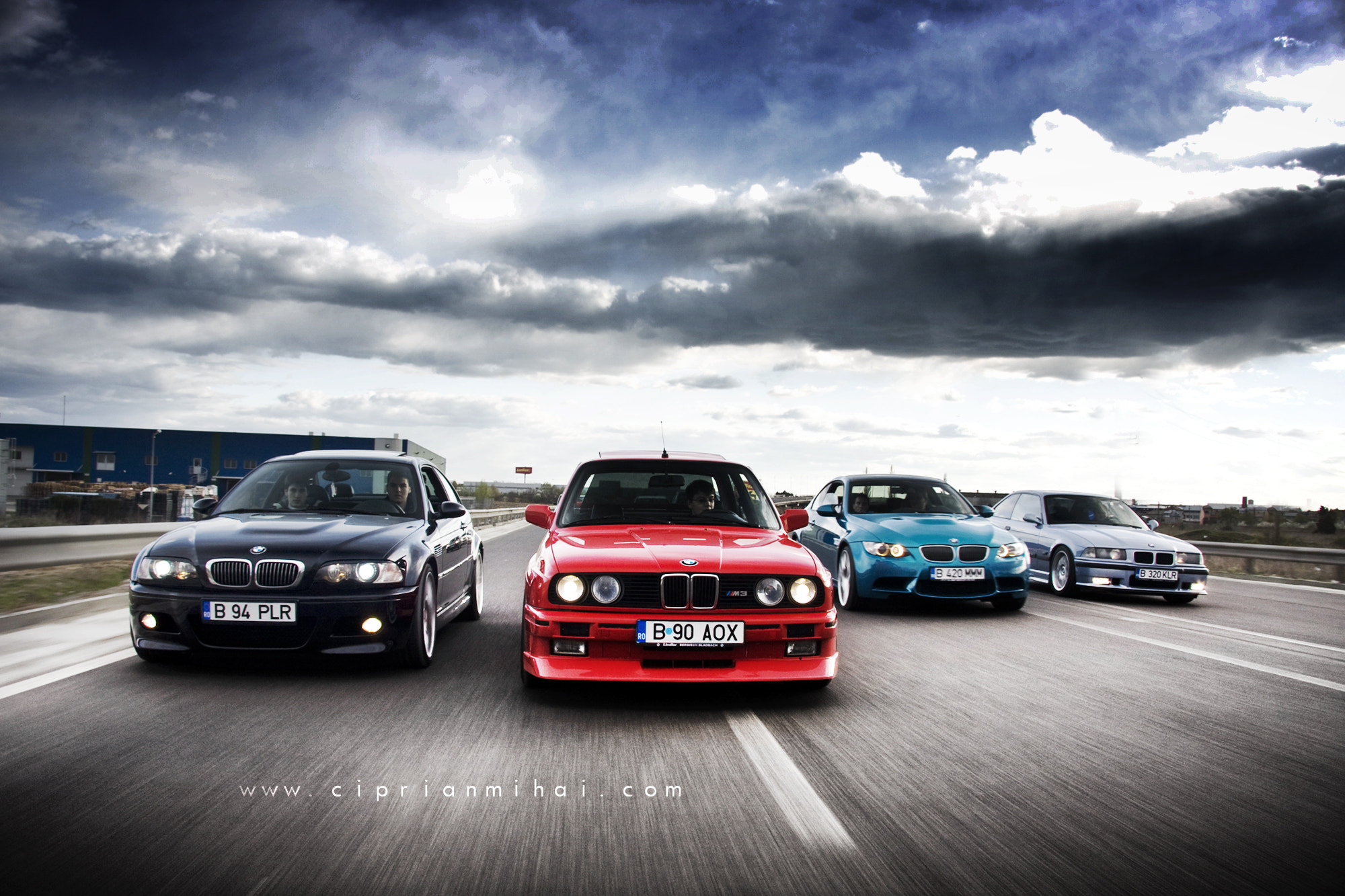 Photograph BMW M3 Family from 86 to 2011 by Ciprian Mihai on 500px
