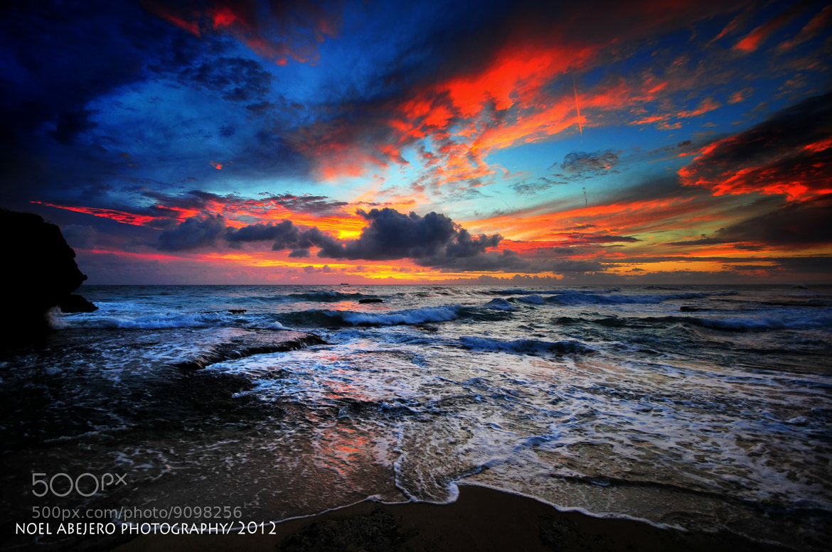 Photograph bolinao sunset by noel abejero on 500px