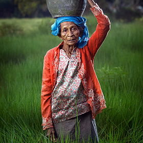 older women and the green grass' by abe less (abeless)) on 500px.com