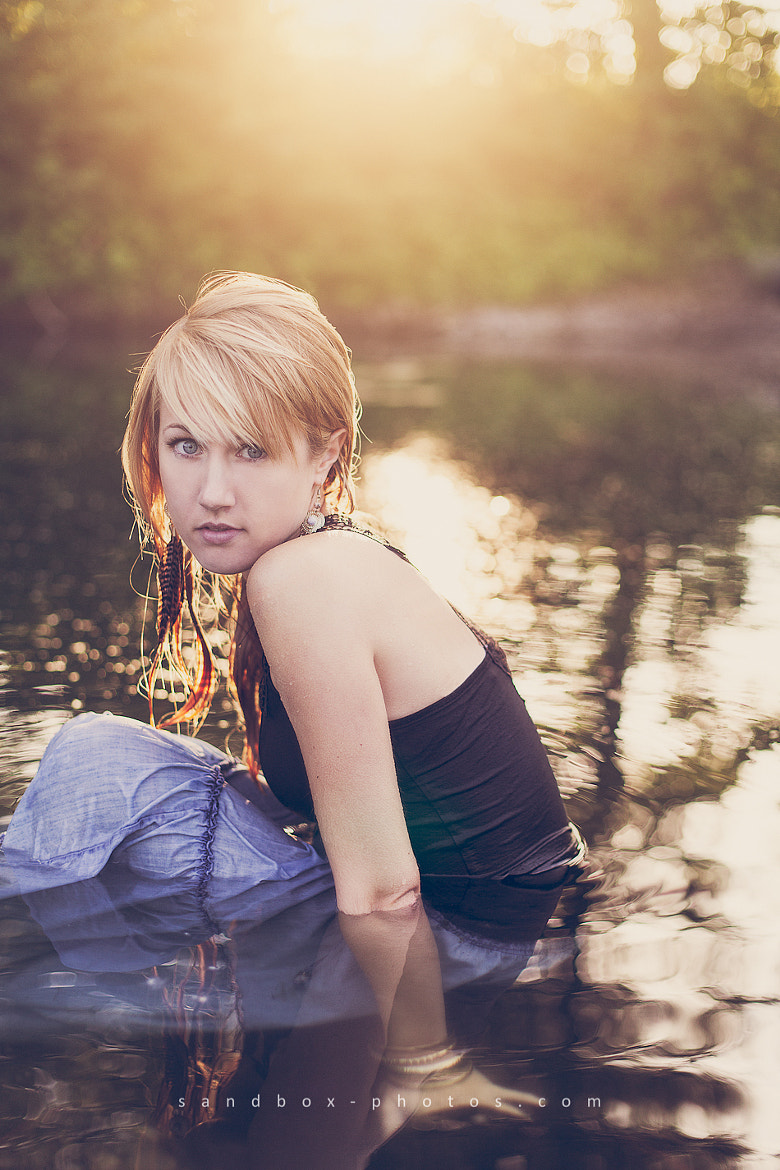 Photograph Anna by the water by Christopher Wesser on 500px