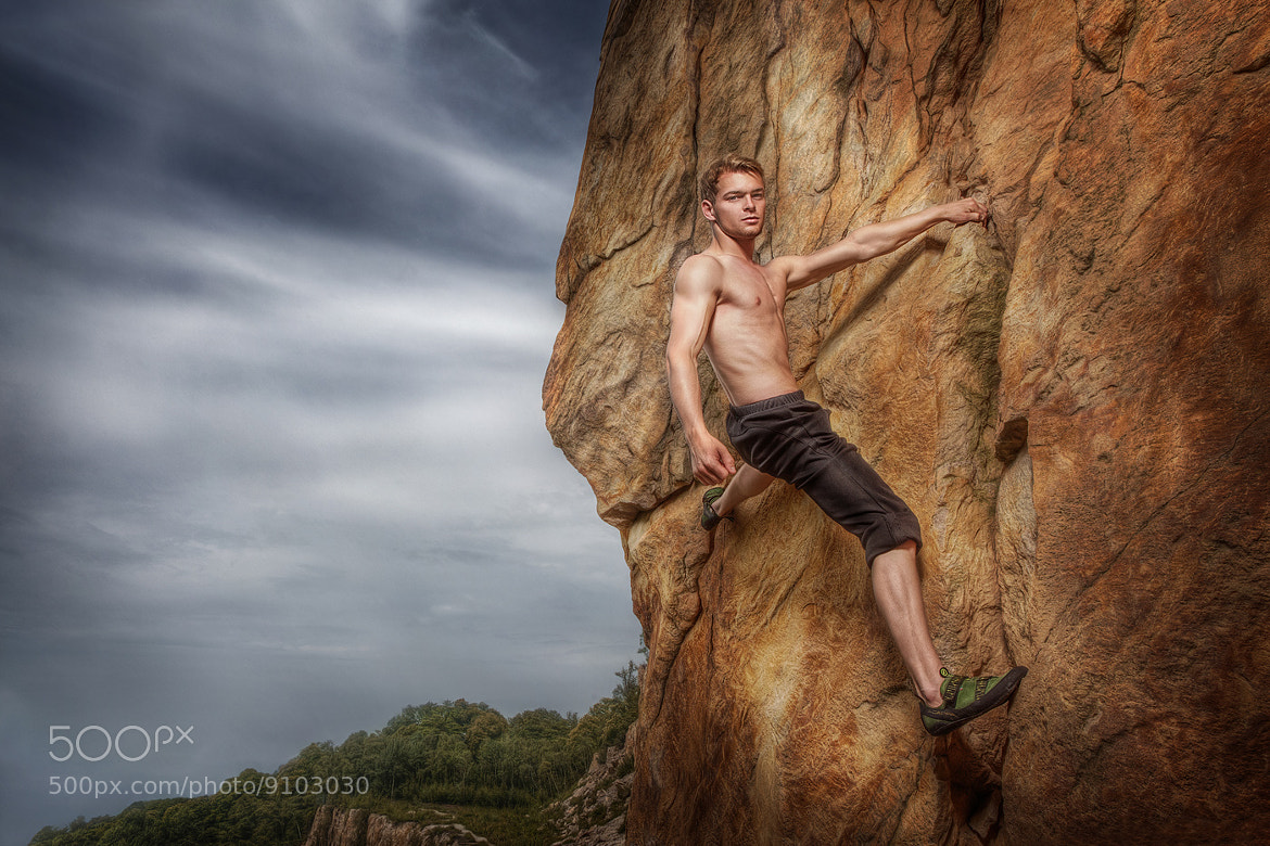 Photograph Cliffhanger by Calvin Hollywood on 500px