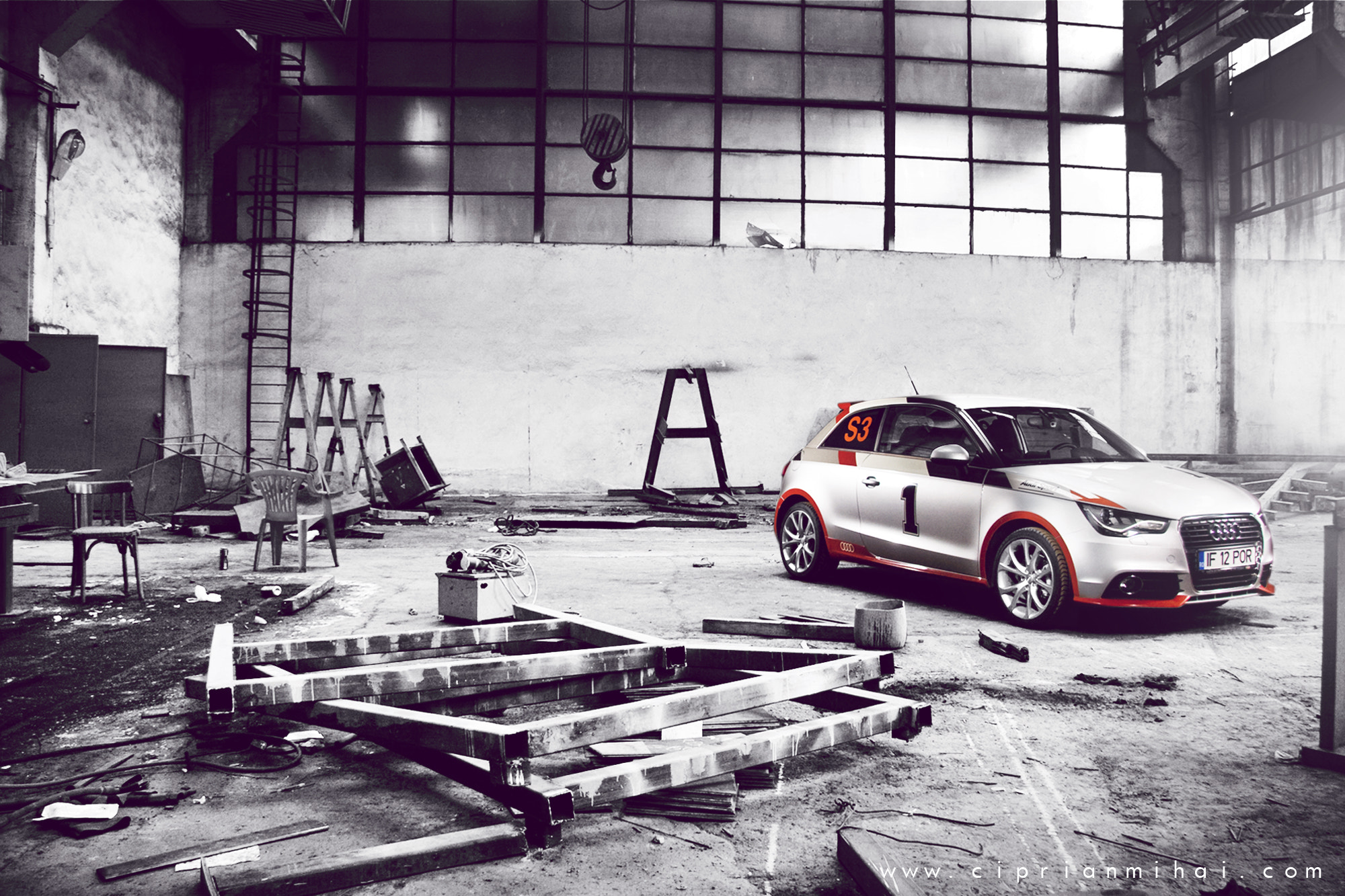 Photograph Audi A1 Sport by Ciprian Mihai on 500px