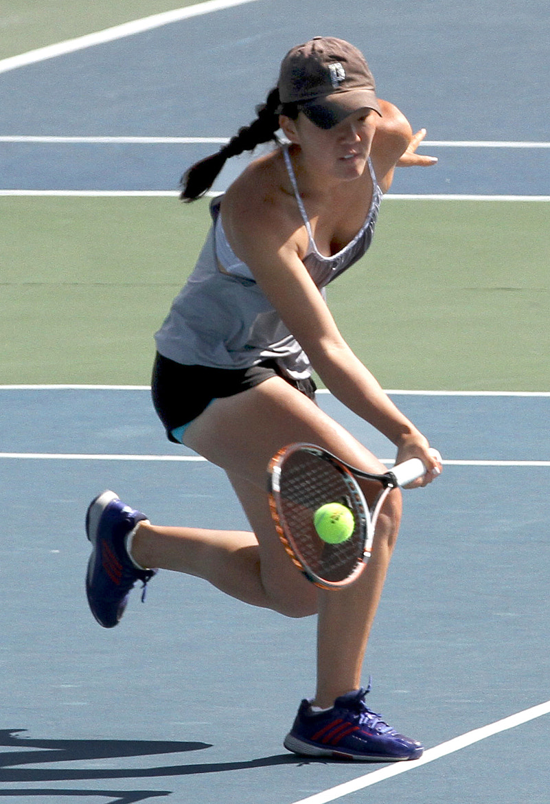 Photograph forehand volley by Ron Tong on 500px
