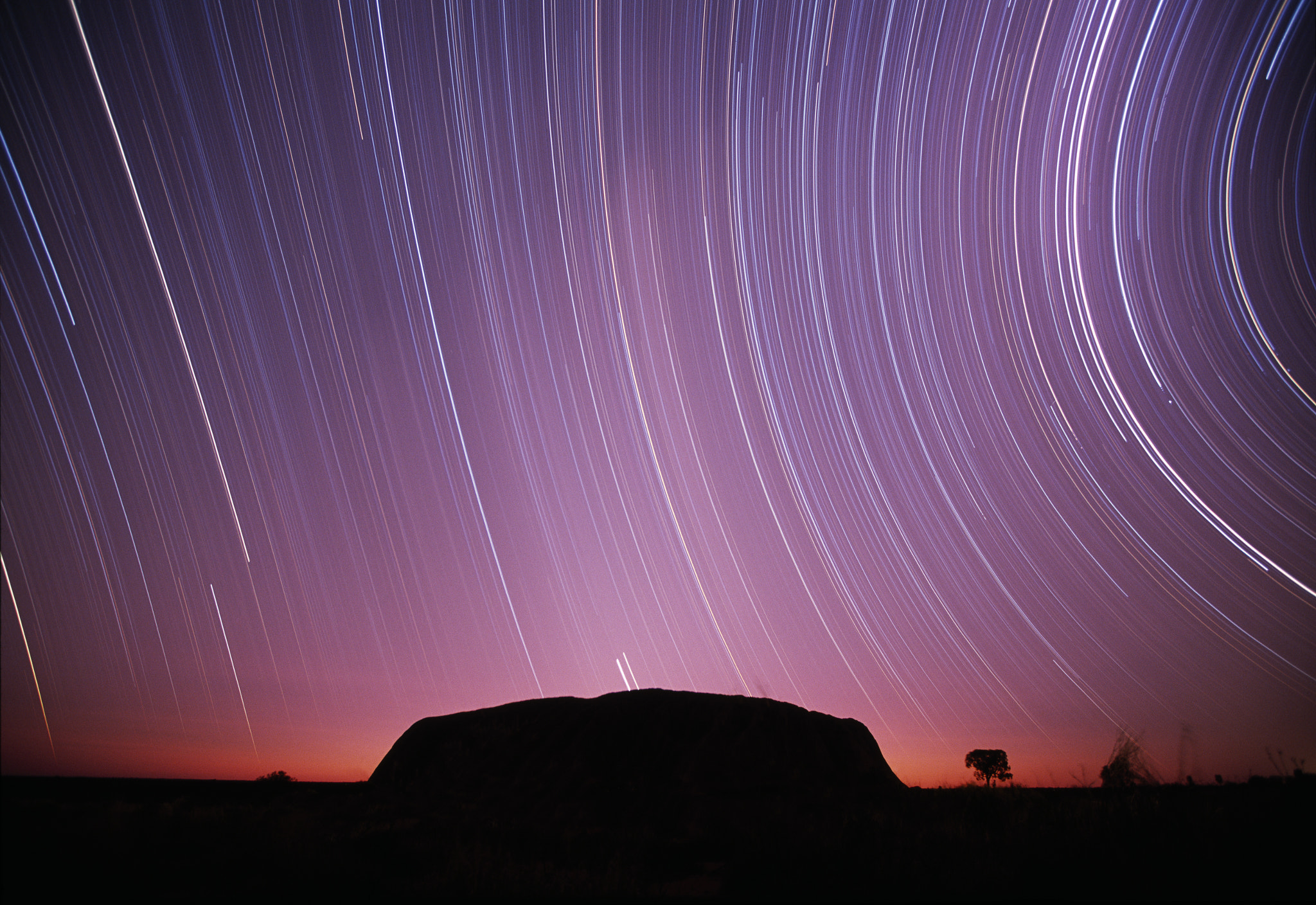 Photograph Ayers Rock Night Exposure by Paul Souders | WorldFoto on 500px
