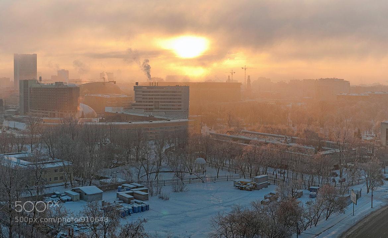 Photograph Winter sunrise by Olga Land on 500px