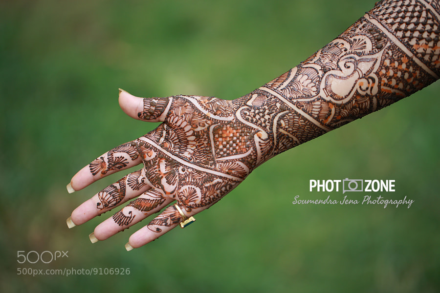 Photograph Indian Bridal Mehndi by Soumendra Jena on 500px