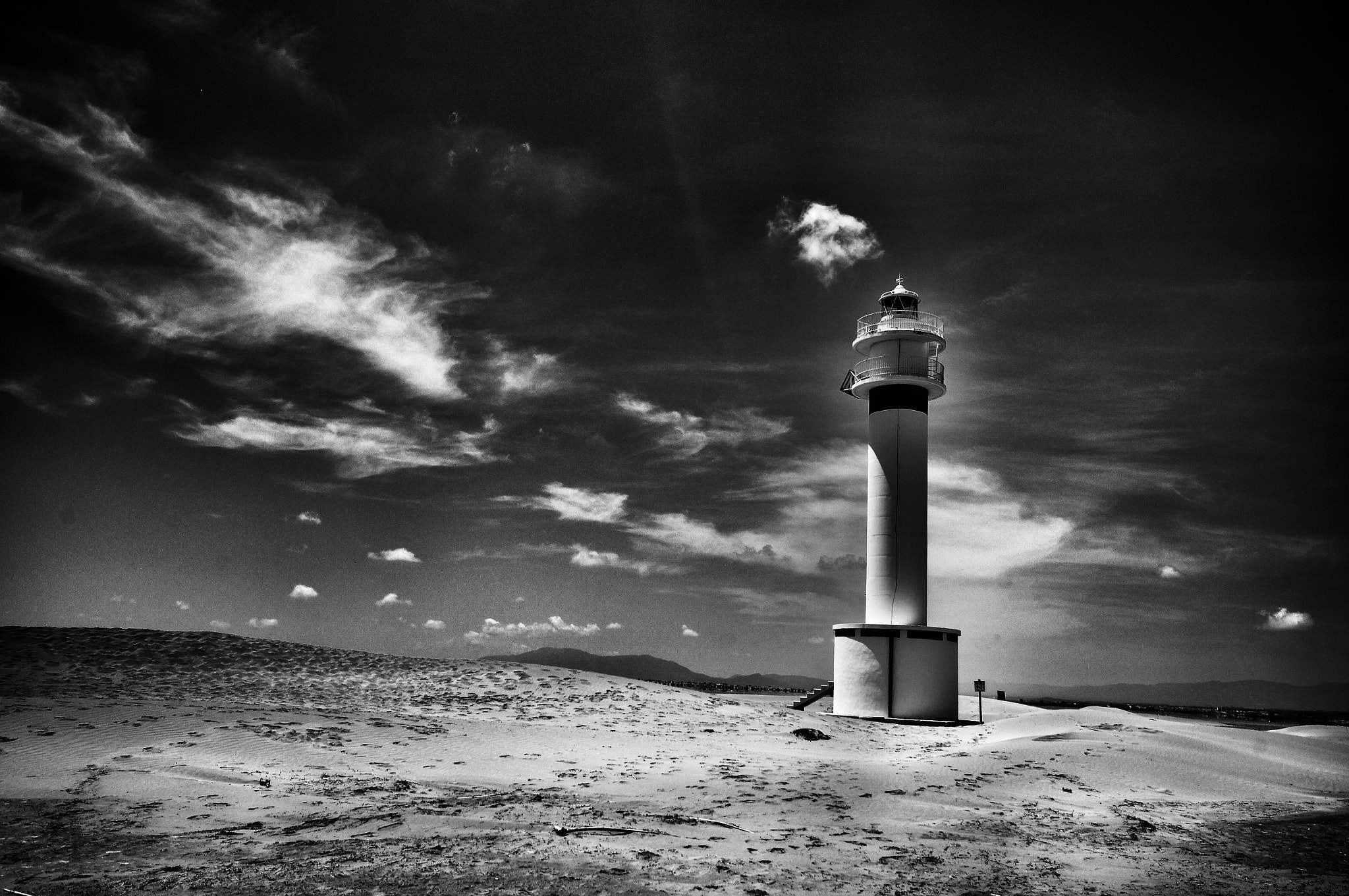 Photograph Lighthouse, Delta de l'Ebre by JJ Nugent on 500px