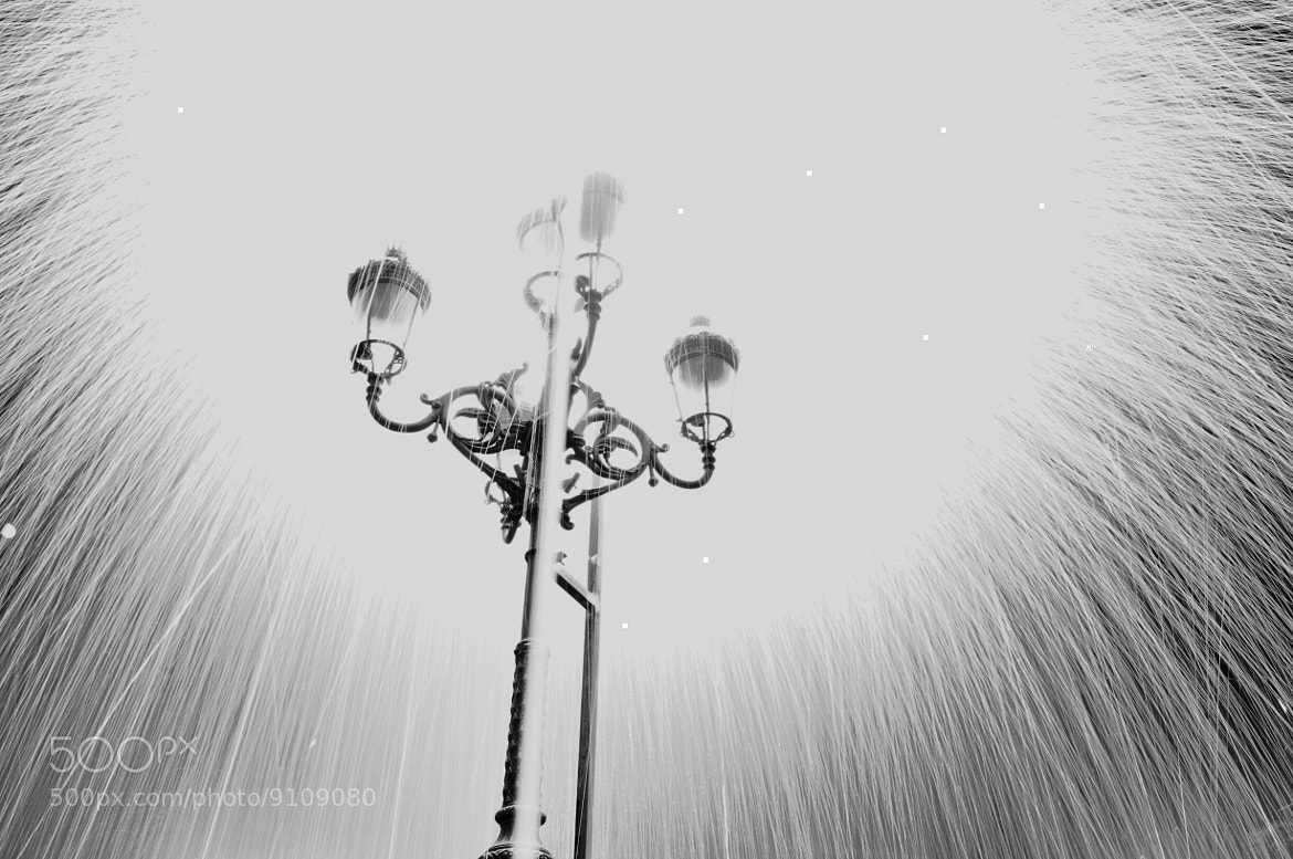 Photograph Exploding Lamppost by JJ Nugent on 500px