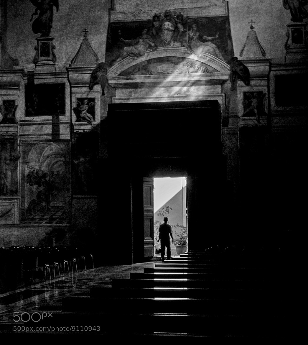 Photograph Exiting the church by Giuseppe Grimaldi on 500px