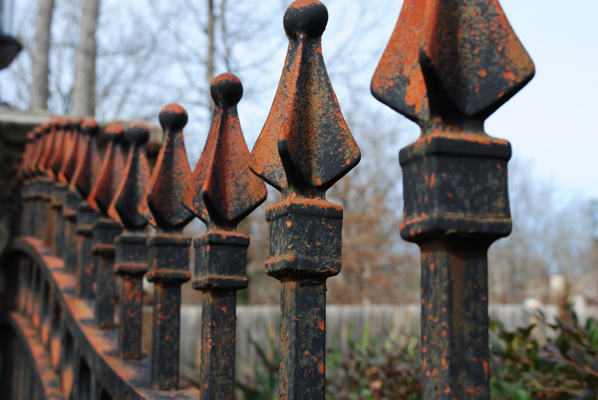 Photograph a rusted fence by beka 3000 on 500px